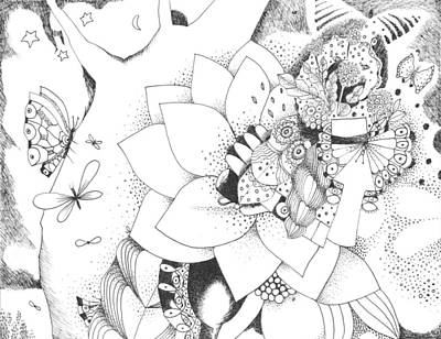 Metaphorically Speaking Art Print by Helena Tiainen