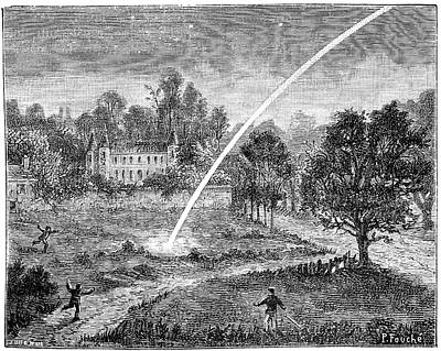Styria Photograph - Meteoric Impact, 17th Century by