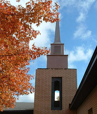 Photograph - Methodist Church by Linda Pope
