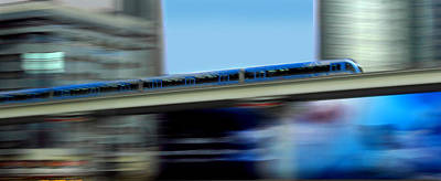 Photograph - Metro In Motion by Radoslav Nedelchev