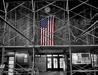 Photograph - Metro North Station by Bennie Reynolds
