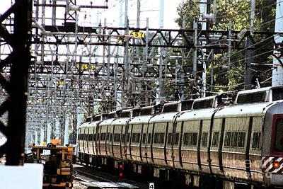 Photograph - Metro Railroad Cars by Margie Avellino