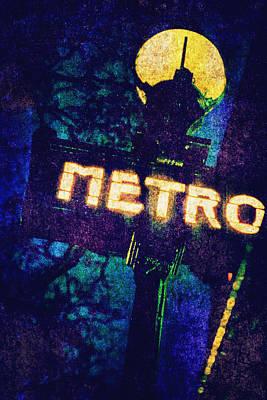 Metro Art Print by Skip Nall