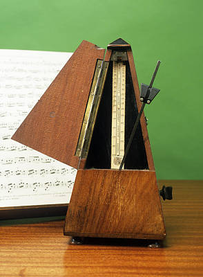 Music Score Photograph - Metronome by Andrew Lambert Photography