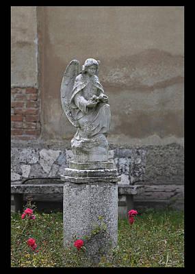 Photograph - Metropolitan Angel  Card by Raffaella Lunelli