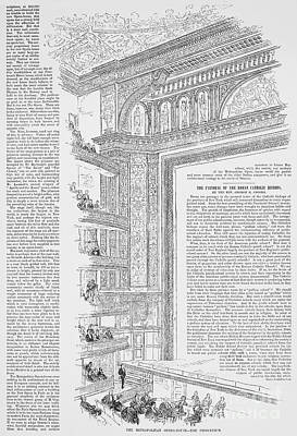 Metropolitan Opera, 1883 Art Print