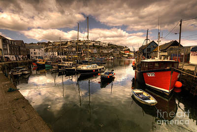 1-war Is Hell Royalty Free Images - Mevagissy Harbour Royalty-Free Image by Rob Hawkins
