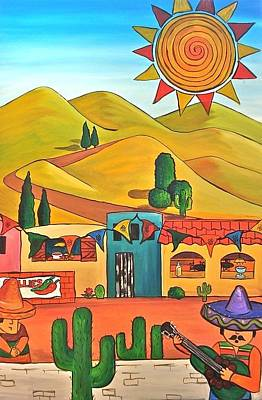 Mexican 2 Art Print