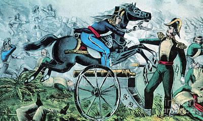 Mexican-american War, Battle Of Resaca Art Print