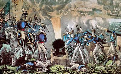 Mexican-american War, Siege Art Print