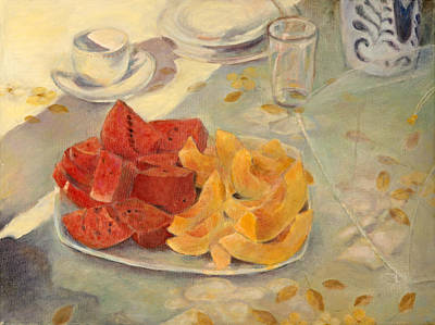 Painting - Mexican Breakfast by Rita Bentley
