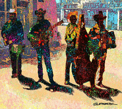 Digital Art - Mexican Conjunto II by Dean Gleisberg