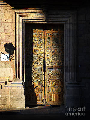 Photograph - Mexican Door 21 by Xueling Zou