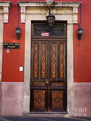 Photograph - Mexican Door 26 by Xueling Zou