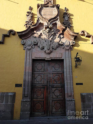 Photograph - Mexican Door 28 by Xueling Zou