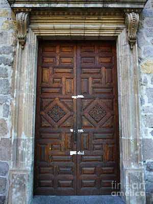 Photograph - Mexican Door 32 by Xueling Zou