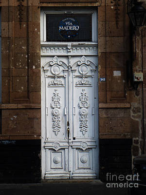 Photograph - Mexican Door 39 by Xueling Zou