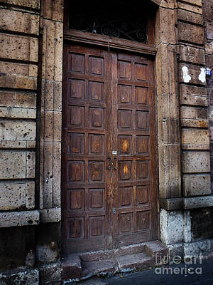 Photograph - Mexican Door 41 by Xueling Zou