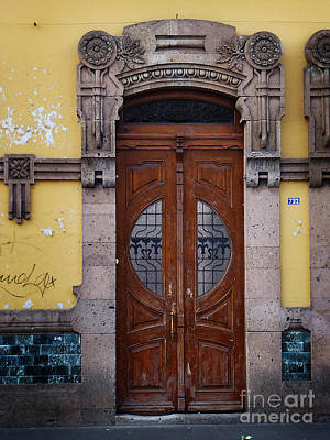 Photograph - Mexican Door 43 by Xueling Zou