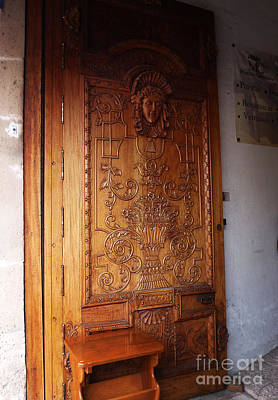Photograph - Mexican Door 52 by Xueling Zou
