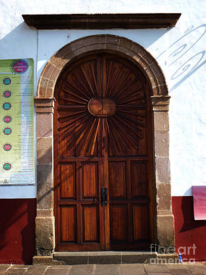 Photograph - Mexican Door 60 by Xueling Zou