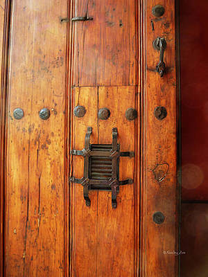 Photograph - Mexican Door Decor 10  by Xueling Zou