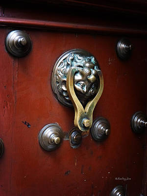 Photograph - Mexican Door Decor 14  by Xueling Zou