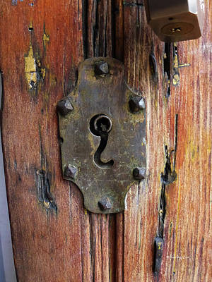 Photograph - Mexican Door Decor 7   by Xueling Zou