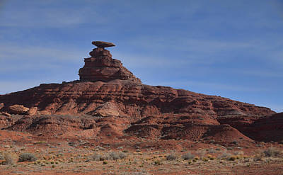 Photograph - Mexican Hat Rock by Gregory Scott