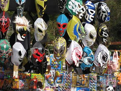 Mexican Masks Art Print by Stav Stavit Zagron