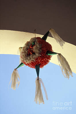 Photograph - Mexican Pinata  by John  Mitchell