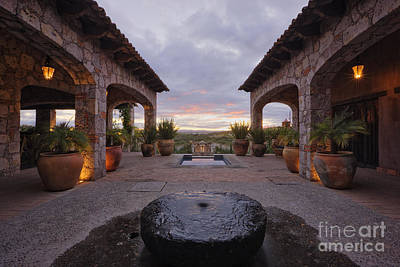 Mexican Ranch House Art Print by Jeremy Woodhouse