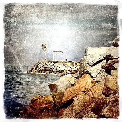 Rock Wall Art - Photograph - Mexican Seashore by Natasha Marco