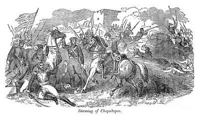 Mexican War: Chapultepec Art Print by Granger