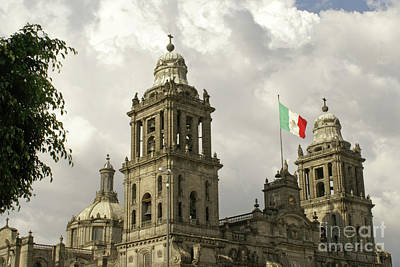 Photograph - Mexico City Cathedral by John  Mitchell