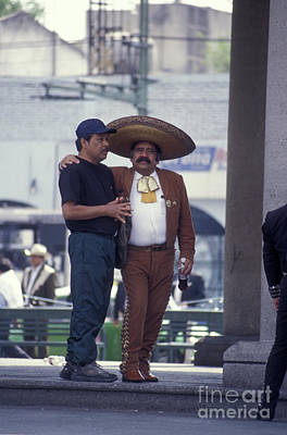 Photograph - Mexico City Mariachi And Friend by John  Mitchell