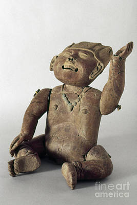 Photograph - Mexico: Clay Child by Granger
