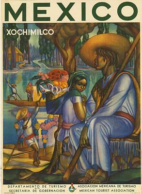 Indigenous Culture Digital Art - Mexico by Georgia Fowler