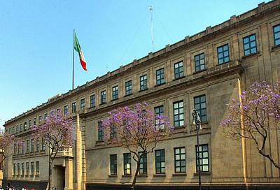 Photograph - Mexico Supreme Court by Steven Richman