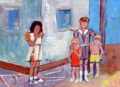 Painting - Mi Amiga by Elzbieta Zemaitis