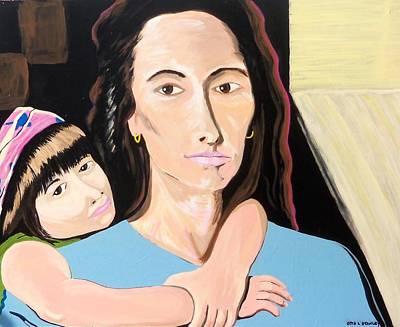 Painting - Mi Familia Latina by Otis L Stanley