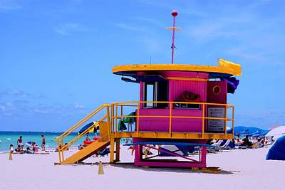 Photograph - Miami Beach by Luis and Paula Lopez