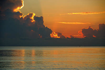 Photograph - Miami Beach Sunrise by Steven Richman