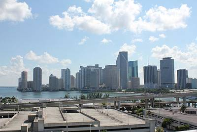 Photograph - Miami High Rise by David Grant