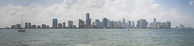 Miami Skyline Photograph - Miami Skyline by Jessica Brooks