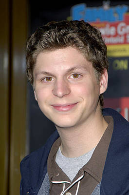 Family Guy Photograph - Michael Cera At Arrivals For Family by Everett