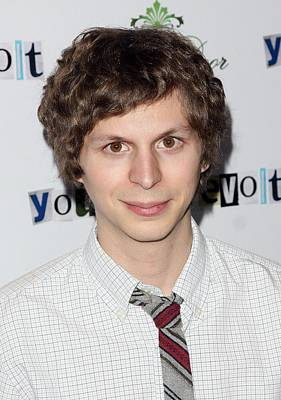 Michael Cera At Arrivals For Youth In Art Print by Everett
