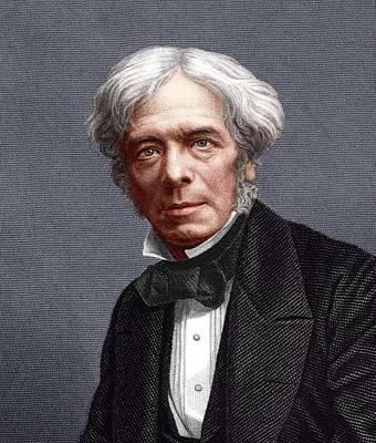 Michael Faraday, English Chemist Art Print by Sheila Terry