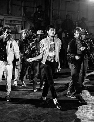Michael Jackson Photograph - Michael Jackson - Beat It by Chris Walter