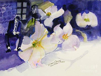 Michael Jackson - Who Is It Print by Hitomi Osanai